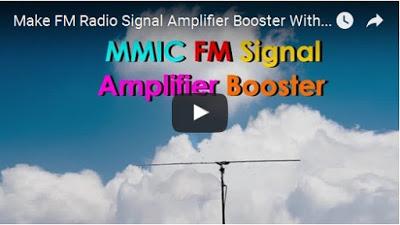 FM signal amplifier