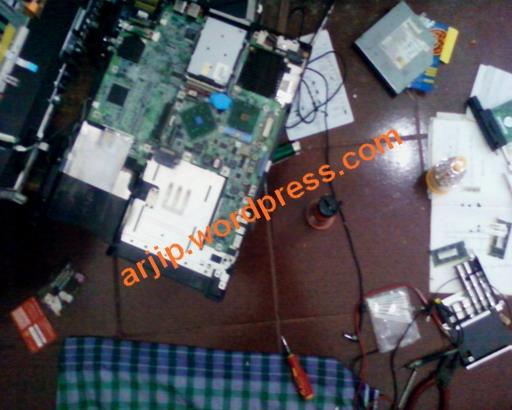 Pengalamanku Memperbaiki Laptop Mati Total Arjip S Blog