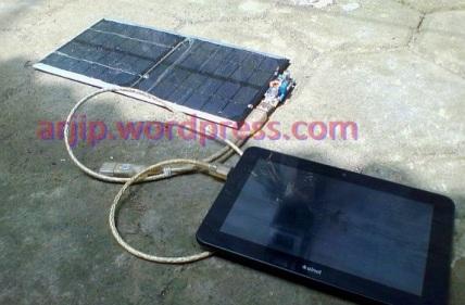 membuat solar charger murah tapi berkualitas